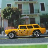55 CHEVY NOMAD HOT WHEELS 1/64 - CHEVROLET NOMAD CLASSIC - car-collector.net