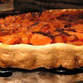 TATIN CAROTTES/LARD - C secrets gourmands!! Blog de cuisine, recettes faciles, à préparer à l'avance, ...