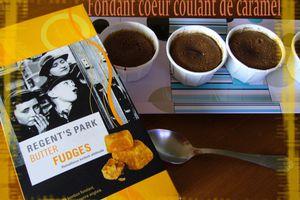 Fondants chocolat coeur coulant de caramel
