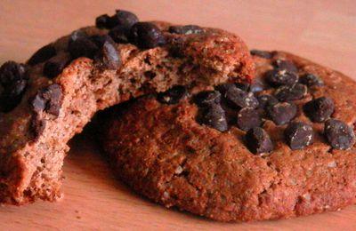 Cookies à la farine de châtaigne et pépites de chocolat