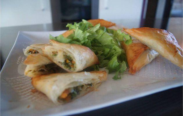 Samoussas aux petits légumes