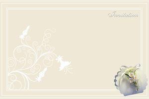 Invitation ~mariage~à imprimer