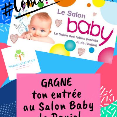 {CONCOURS} Gagne ton entrée pour le salon baby de paris 2020!