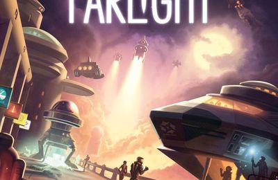 Missions spatiales à Gogo ! Farlight - Game Salute - Essen 2017