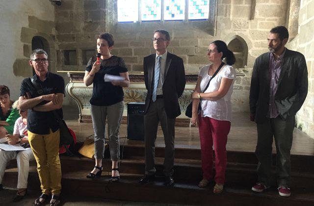 vernissage ART DANS LES CHAPELLES 2015 - Chapelle St Nicolas Pluméliau