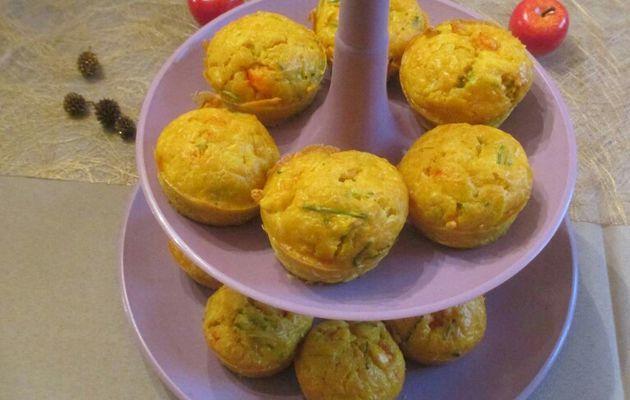 Muffins aux Ecrevisses par Nathalie Lampre