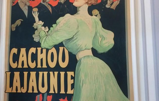 Exposition d'affiches anciennes