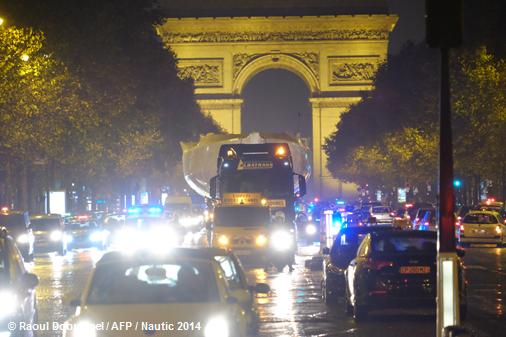Photos - Préfecture de Police / R Dobremel AFP - Nautic 2014