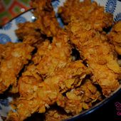 Nuggets aux Corn Flakes - Graine d'Epices