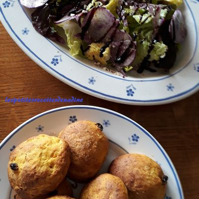 Scones courge muscade