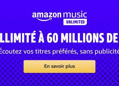 Bon Plan : Amazon Music Unlimited HD gratuit pendant 3 mois !
