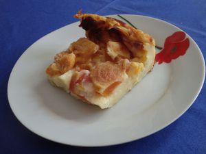 Clafou-flan abricot – pêche de la Mère Mitraille