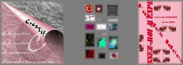 Vous trouverez ici quelques-unes de mes réalisations graphiques.