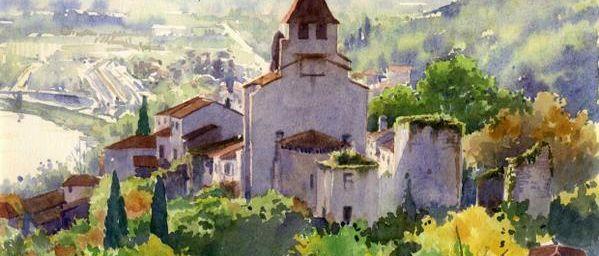 - A voir : Clermont-Dessous aquarelle