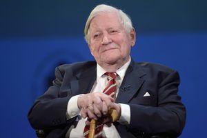 L'ancien chancelier allemand Helmut Schmidt s'est éteint