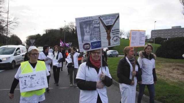 Brest. Nouvelle grève aux urgences de l'hôpital aujourd'hui