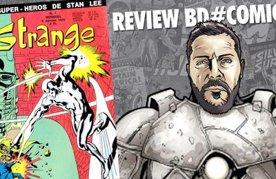 Review BD#Comics - Critique Revue Strange T1 1970 (DOG #12)