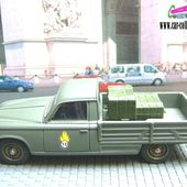 PEUGEOT 403 PICK-UP ARMEE DE TERRE VEREM 1/43 - car-collector.net