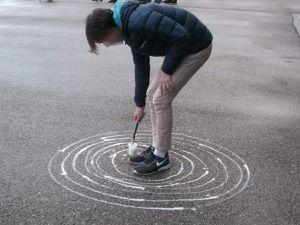 tracer des cercles concentriques, autour de soi...jusqu'aux limites du possible