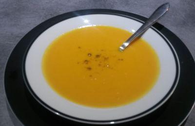 Velouté carottes/ coco et curry