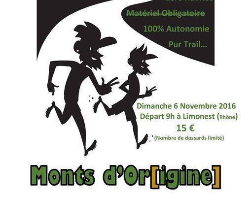 Le Monts d'Or[igine] Trail