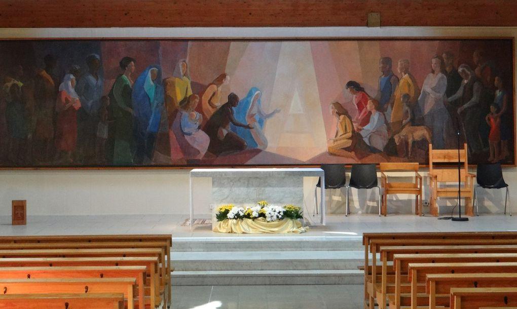 Installation de l'abbé Arturo Martinez