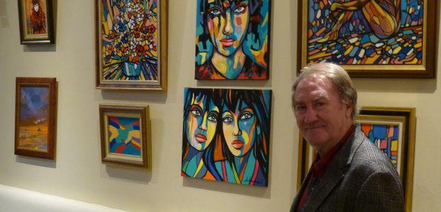 Rencontre avec Gil Bernard, peintre de Montmartre.