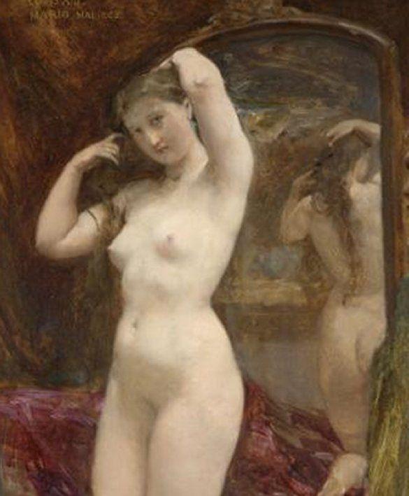 Le Tableau du Samedi: Paul Baudry, La Toilette de Vénus, 1858