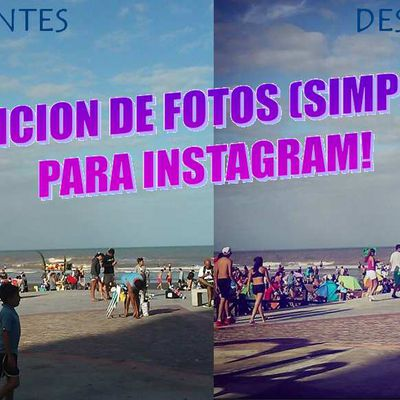EDICION DE FOTOS (Sencillo) PARA INSTAGRAM!! Jutips