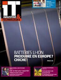 Industrie & Technologies, n°1034, Septembre 2020