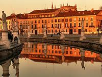 PADUA (PADOVA) SITUATED IN THE NORTH-EAST OF ITALY
