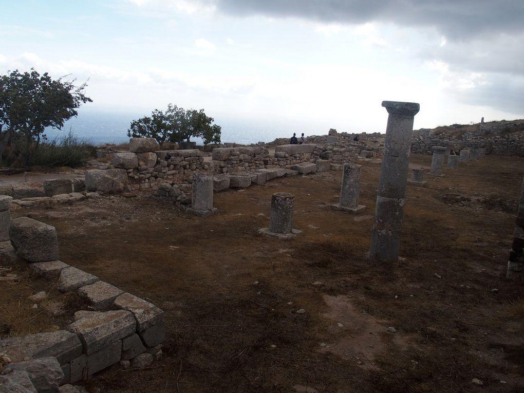 Thira ...la ville antique !!