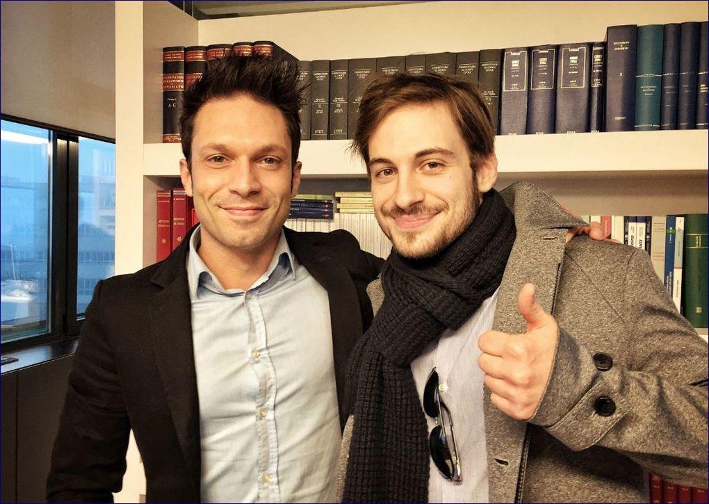Matteo Cracco e Luca Menti
