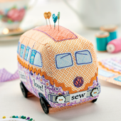 Campervan Pincushion - Free Craft Project - Stitching - Crafts Beautiful Magazine