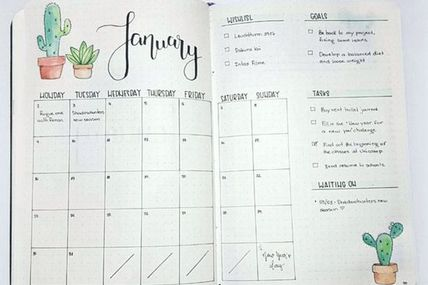 Monthly Log Inspirat