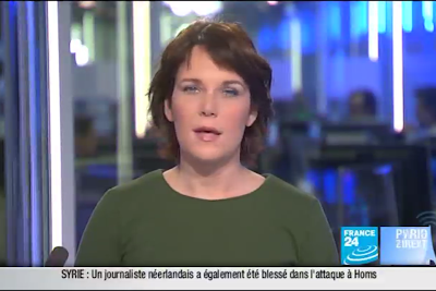 2012 01 12 @06H30 - HÉLÈNE DROUET, FRANCE 24, PARIS DIRECT