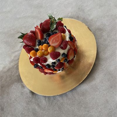 Cheese cake aux fruits
