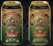 Whisky en canette