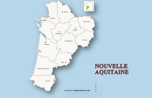 Liens et INFOS de la Région NOUVELLE AQUITAINE