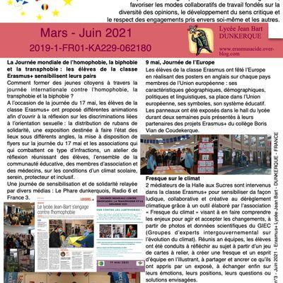 Newsletter n°3 ACIDE Lycée Jean Bart
