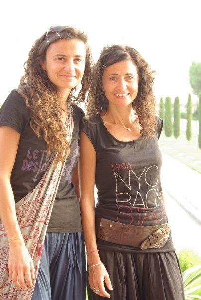 Voyage Sophie et Lucie en Inde en 2009.