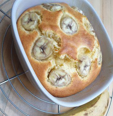 Banana cake de Cyril Lignac