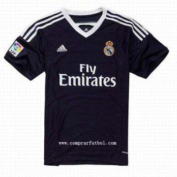 Segunda camisetas de futbol del Real Madrid para la temporada 2014 2015