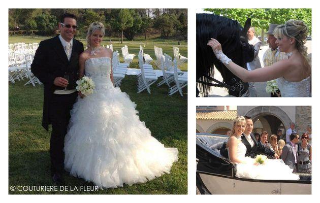 Mariage Garden chic au Mas Guilhem   Fleuriste mariage Vergèze