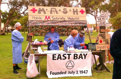 MASH : Mobile AA Sobriety Hospital !