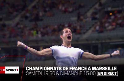[Infos TV] Les championnats de France d'Athlétisme à suivre ce week-end sur SFR Sport !