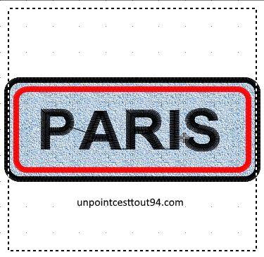 broderie gratuite PARIS