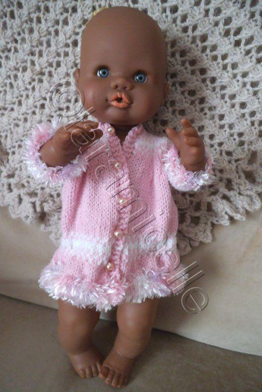tuto gratuit bébé nenuco : robe raffinée sans couture