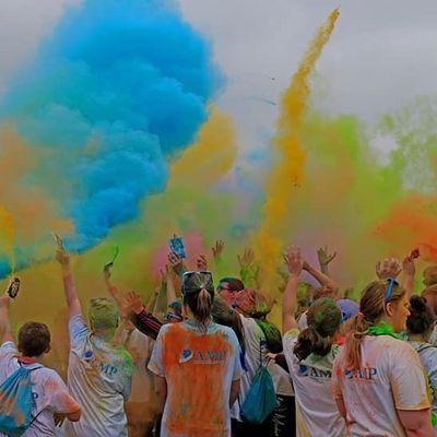 Objectif atteint pour la 10ème marche TAM & Color MatDay