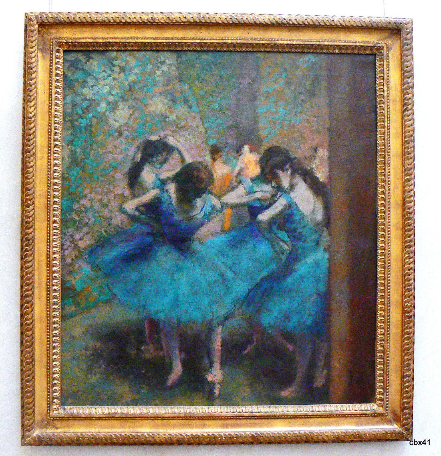Edgar Degas, Danseuses bleues